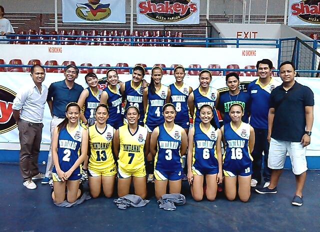 Ateneo de Davao HS Volleybelles in Shakey's Girls ...