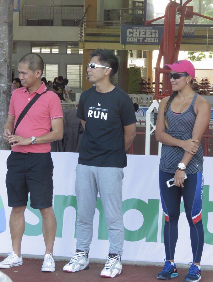Coach Noli Ayo, Atty Rebo, and Ms Katherine Khay Santos