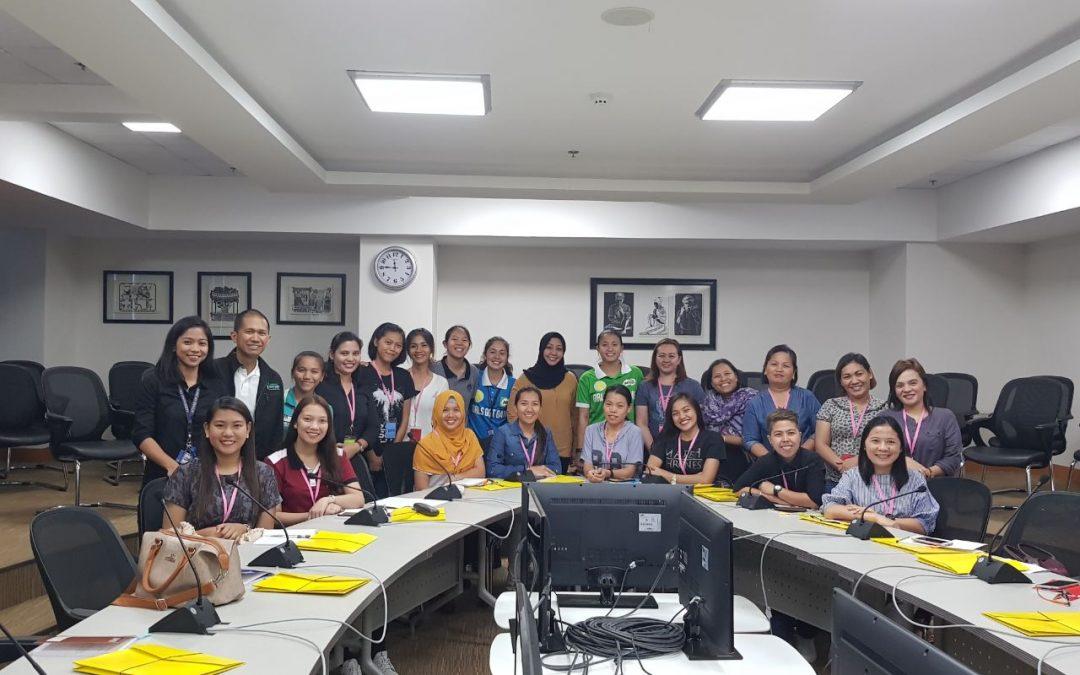 Women in Sports: Isang Pakighinabi
