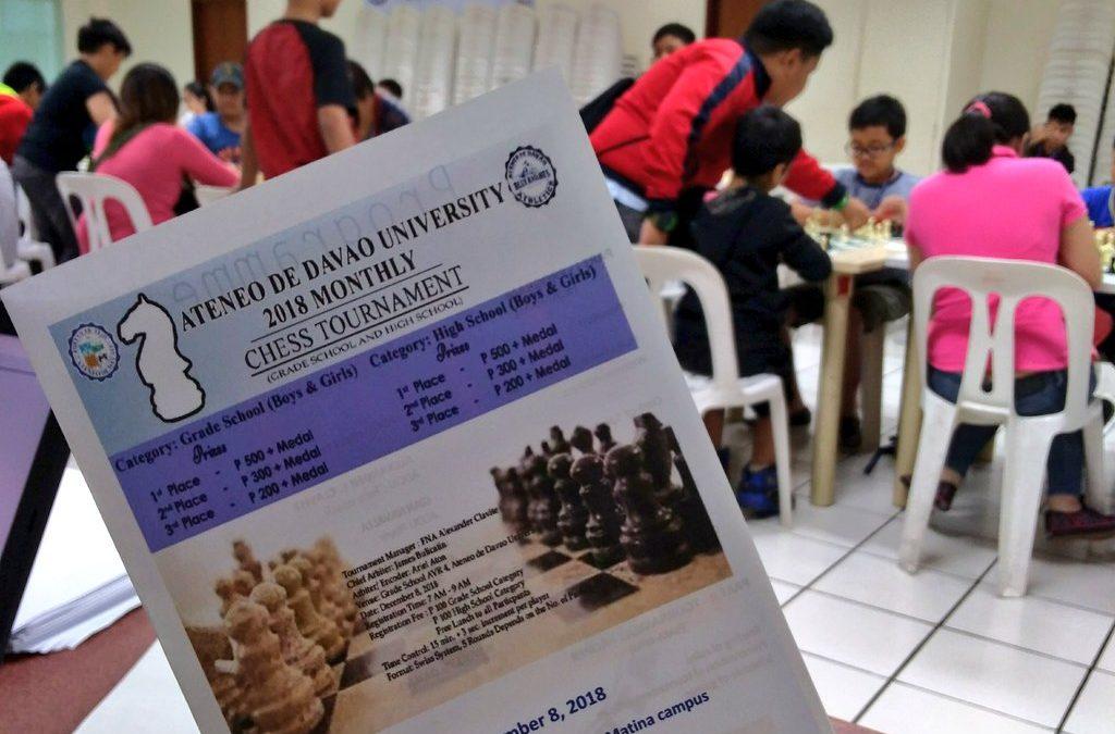 AdDU Monthly Chess Tournament