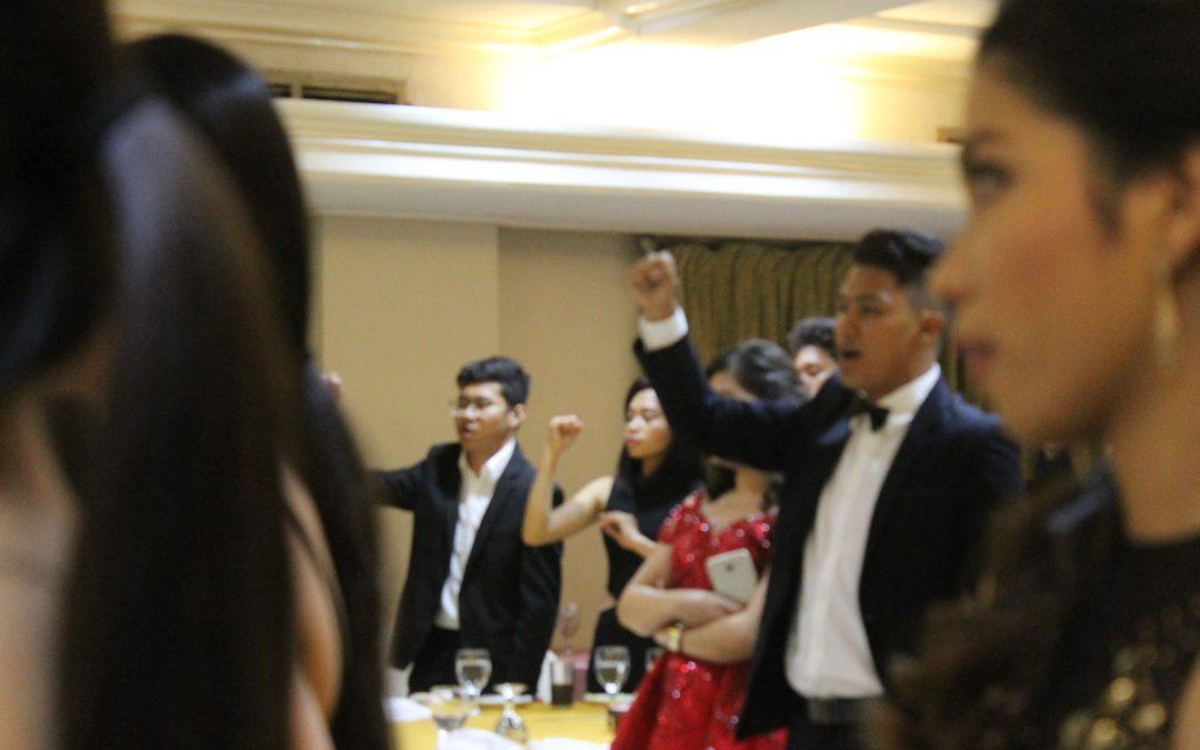 Banwag Asul: Blue Light Ateneo Men's Football Team Annual Formal Dinner